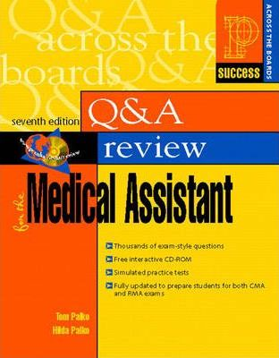 Prentice Hall's Health Question and Answer Review for the Medical Assistant