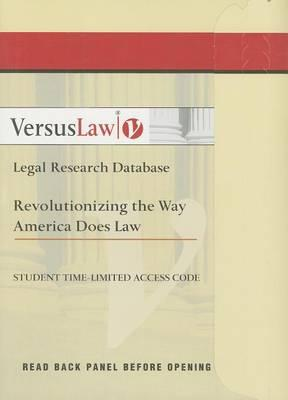 Introduction to Law Versuslaw
