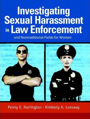 Investigating Sexual Harassment in Law Enforcement and Nontraditional Fields for Women