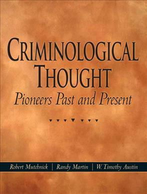 Criminological Thought