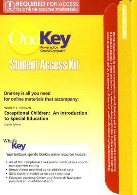 OneKey CourseCompass, Student Access Kit, Exceptional Children