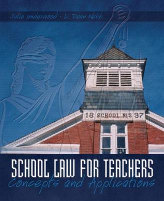 School Law for the Teachers