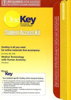 OneKey WebCT, Student Access Kit, Medical Terminology with Human Anatomy