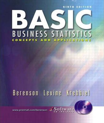 Basic Business Statistics and Student CD-ROM