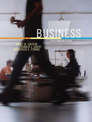 Business, Fifth Canadian Edition