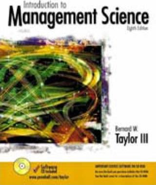 Introduction to Management Science and Student CD Package