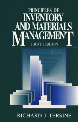 Principles of Inventory and Materials Management