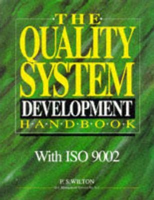 Quality Systems Development Handbook with ISO 9002