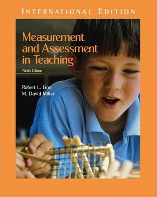 Measurement and Assessment in Teaching