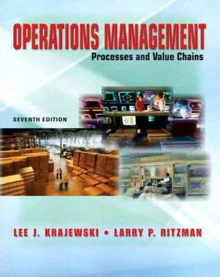 Operations Management and Student CD Package