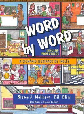 English/Portuguese Edition, Word by Word Picture Dictionary