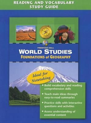 World Studies: Foundations of Geography Reading and Vocabulary Study Guide