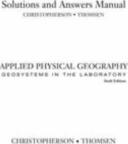 Geosystems SM Appl Physical Ge