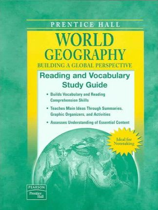 World Geography Reading and Vocabulary Study Guide 2007