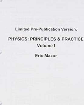 Limited Pre-Publication Version, Physics