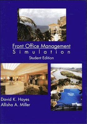 Simulation Student CD for Professional Front Office Management (FOMS)
