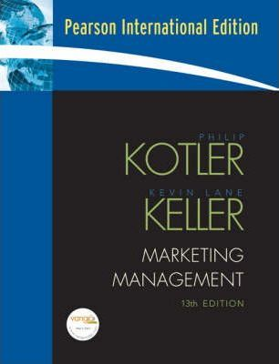 Marketing Management Philip Kotler 9780131357976