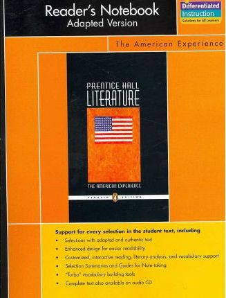 Prentice Hall Literature Penguin Edition Readers Notebook Adapted Version Grade 11 2007c