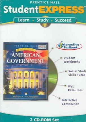 Prentice Hall Magruder's American Government Student Expres CD-ROM 2005