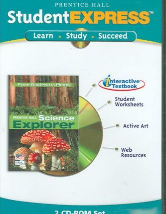 Science Explorer from Bacteria to Plants Itext CD ROM 2005