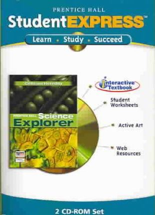 Science Explorer Cells to Heredity Itext CD ROM 2005