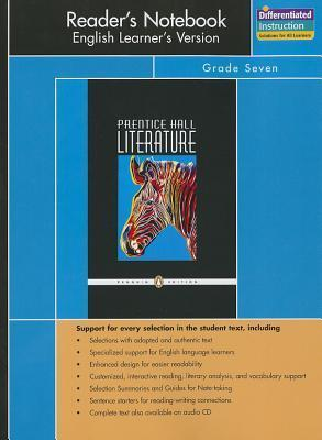 Prentice Hall Literature Penguin Edition Readers Notebook English Learners Version Grade 7 2007c