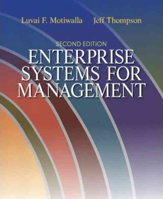 Enterprise Systems for Management