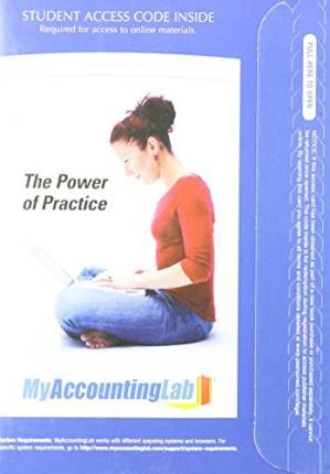 MyAccountingLab with Pearson eText -- Access Card -- for Accounting, Chapters 1-23, Complete Book