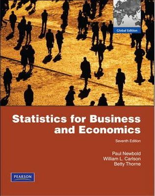 Statistics for Business and Economics & MathXL Student Access Card Package  Global Edition