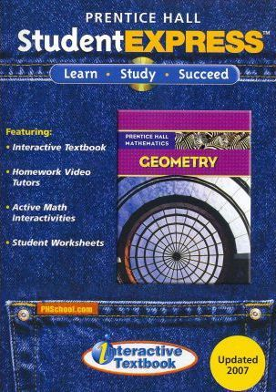 Prentice Hall Math 2007 Student Express CD ROM Geometry