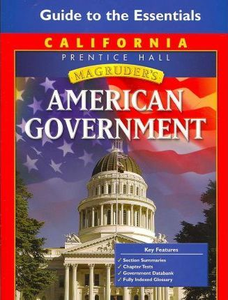 Magruder's American Government - California Edition
