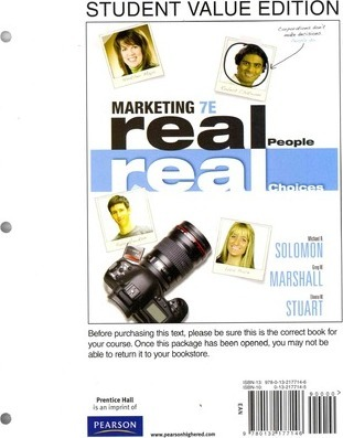 Marketing  Real People, Real Choices, Student Value Edition Plus New Mymarketinglab with Pearson Etext -- Access Card Package