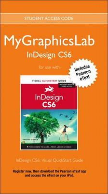MyGraphicsLab Access Code Card with Pearson eText for InDesign CS6