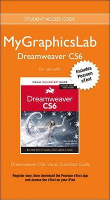 MyGraphicsLab Access Code Card with Pearson eText for Dreamweaver CS6