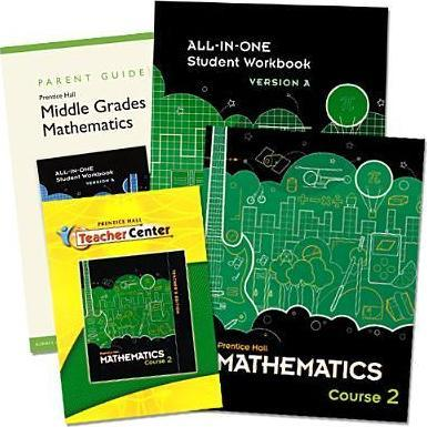 Middle Grades Math 2010 Homeschool Bundle Grade 7