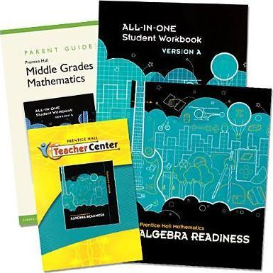 Middle Grades Math 2010 Homeschool Bundle Algebra Readiness