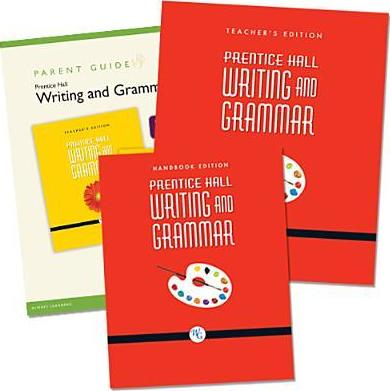 Prentice Hall Writing & Grammar Homeschool Bundle Grade 08 Copyright 2008