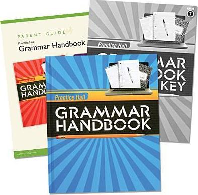 Writing & Grammar 2010 Grammar Handbook Homeschool Bundle Grade 07