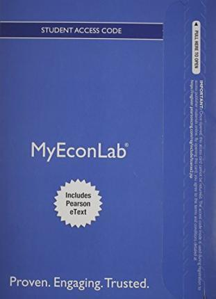 NEW MyLab Economics with Pearson eText -- Access Card -- for Introduction to Econometrics