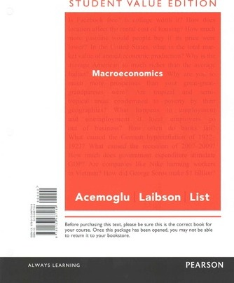 Macroeconomics, Student Value Edition Plus New Myeconlab with Pearson Etext -- Access Card Package