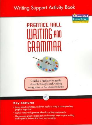 Writing and Grammar Writing Support Activity Book 2008 Gr 8