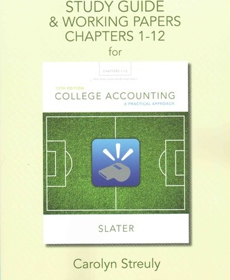 Study Guide & Working Papers for College Accounting