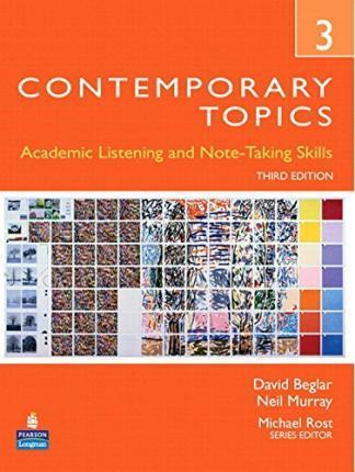 Contemporary Topics 3 Student Book with Streaming Video Access Code Card