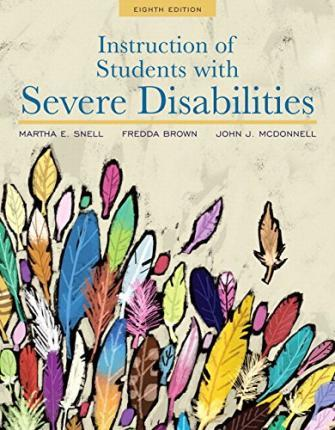 an introduction to the life with a severe disability Module 1 dsp notebook introduction to developmental disabilities engaging and critically important to the quality of life this is a severe, chronic disability.