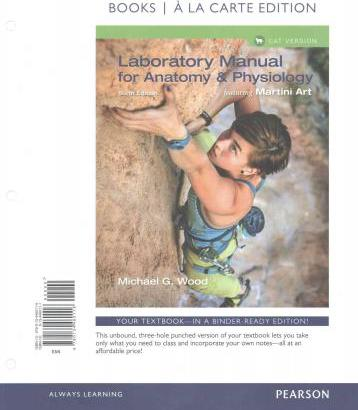 Laboratory Manual for Anatomy & Physiology Featuring Martini Art ...