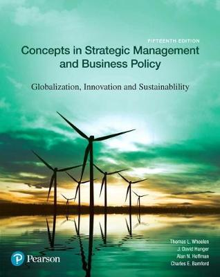 Concepts In Strategic Management And Business Policy Thomas L