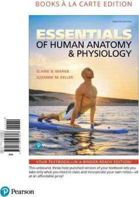 Essentials of Human Anatomy & Physiology, Books a la Carte