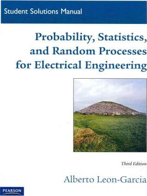 Student Solutions Manual For Probability Statistics And Random