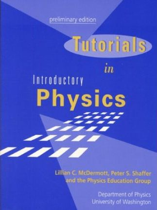 TUTORIALS IN INTRODUCTORY PHYSICS EBOOK