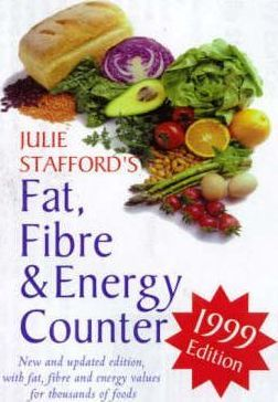 Julie Stafford's Fat,Fibre & Energy Counter